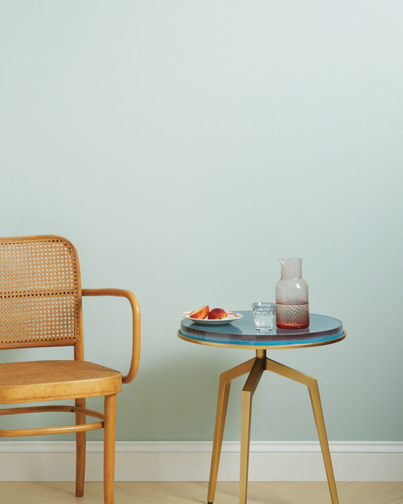 Wall Painted with Clare Paint Headspace
