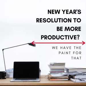 New Years Resolution to be More Productive?