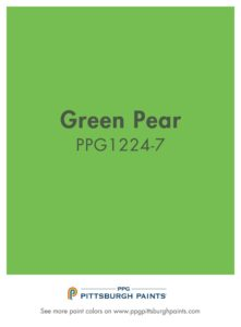 PPG Green Pear