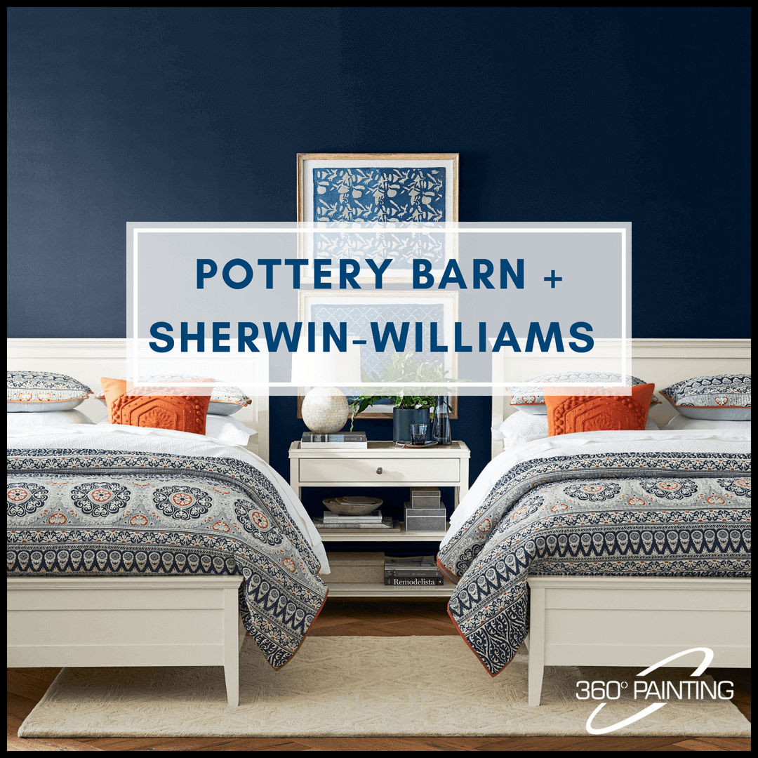 Pottery Barn and Sherwin-Williams