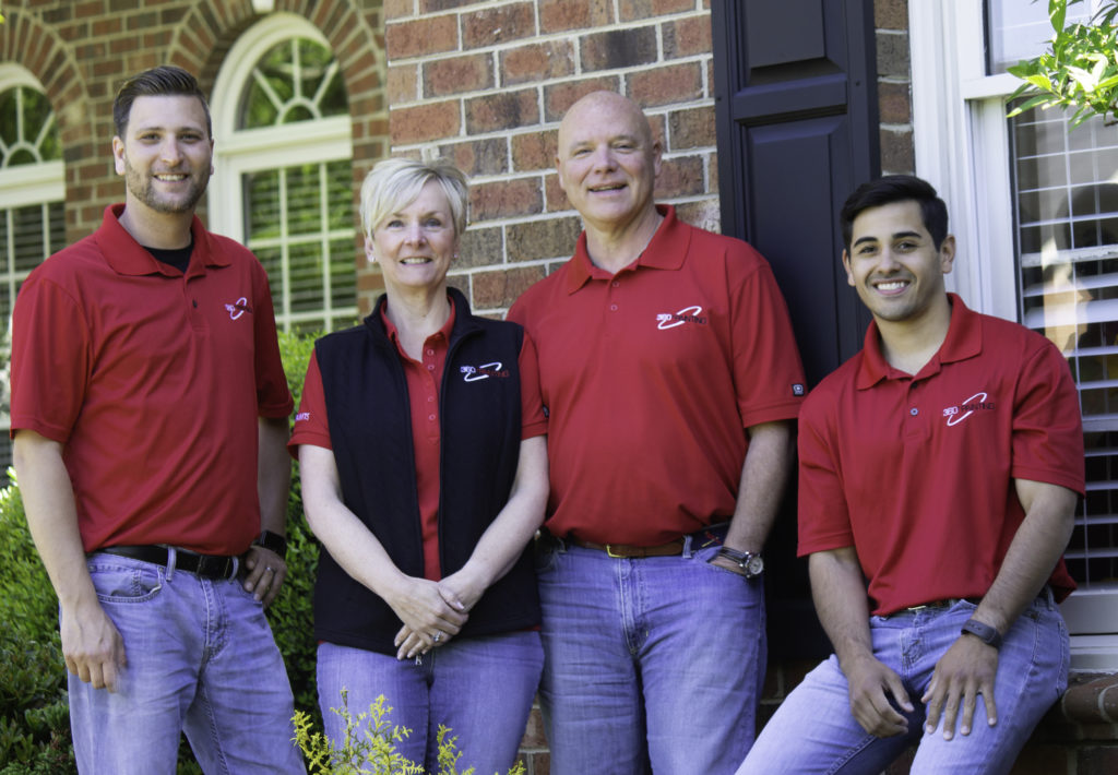 Owners of 360 Painting Gastonia - Rock Hill